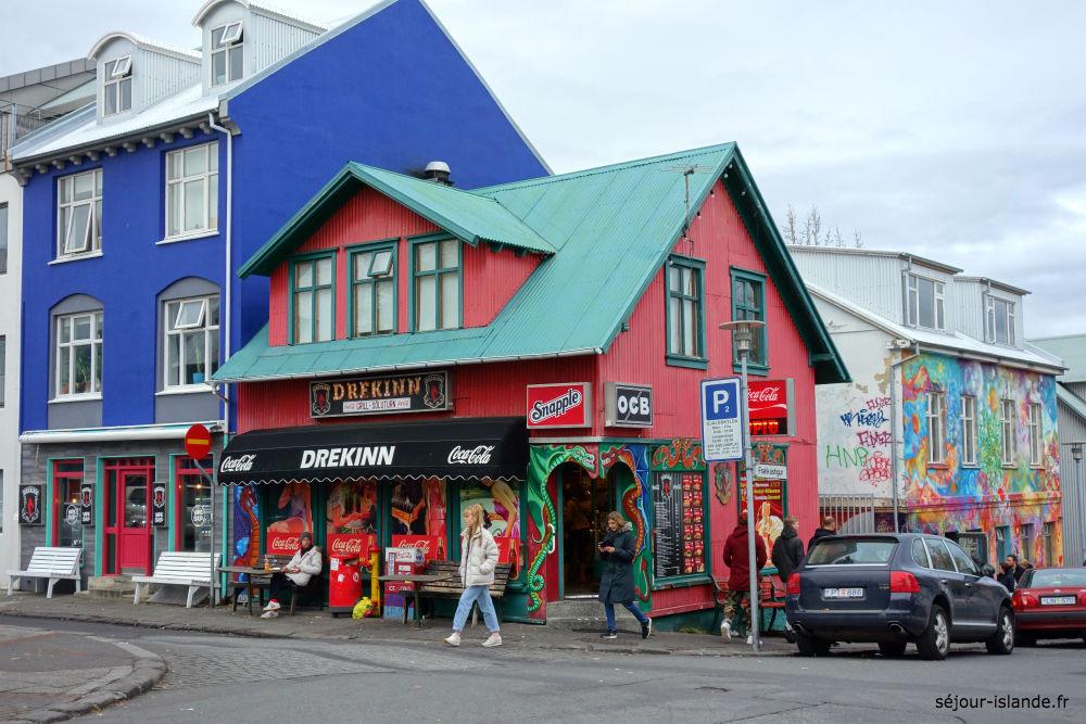 Balade à Reykjavik et aurores boréales