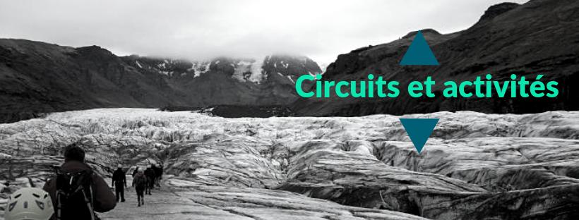 Circuit organisé en Islande